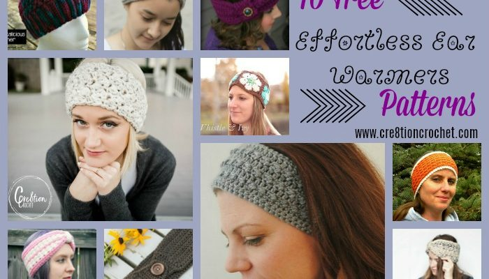 Effortless Ear Warmers Pattern Collection