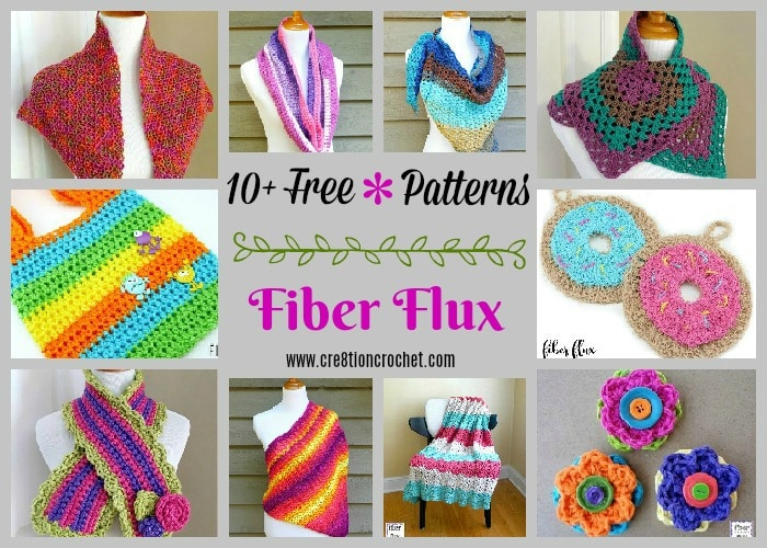 Fiber Flux Crochet Pattern Collection Cre8tion Crochet