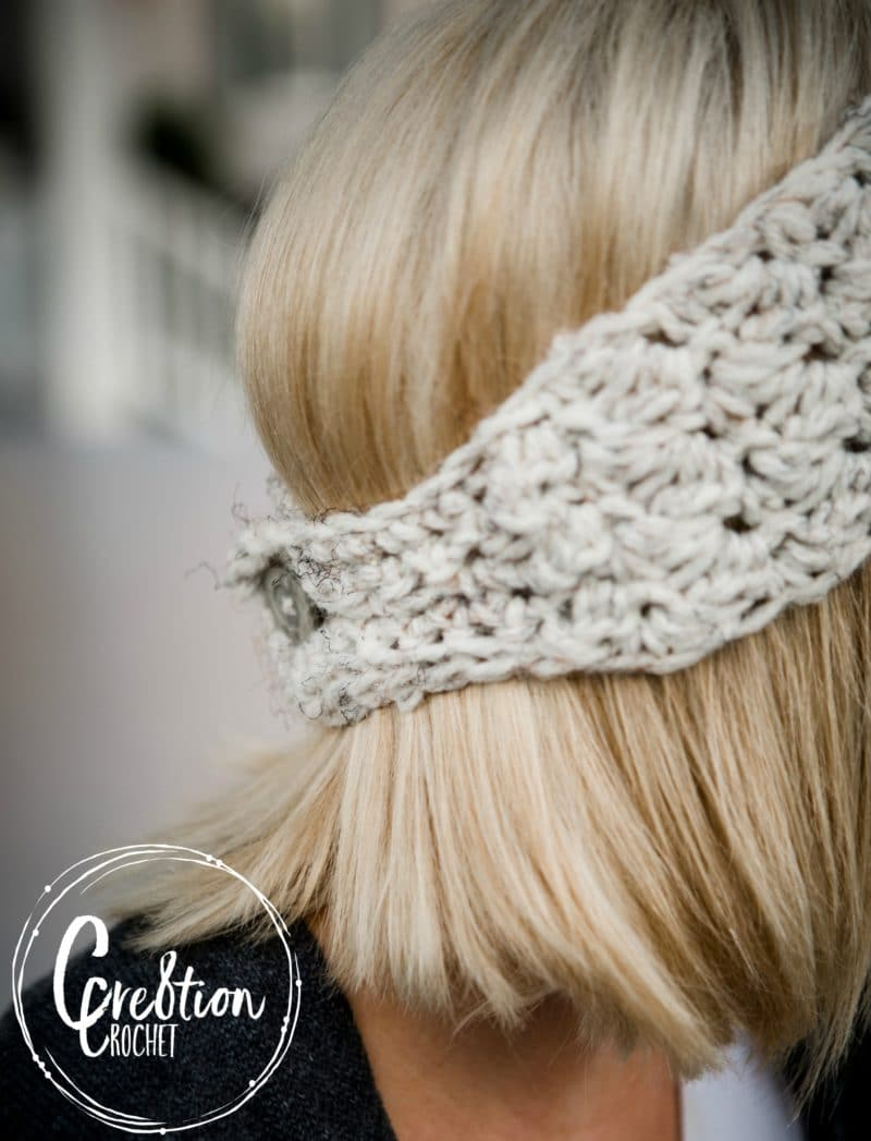 Winter Skies free ear warmer crochet pattern - Cre8tion Crochet