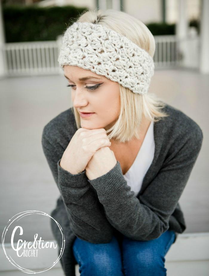 Winter Skies Free Ear Warmer Crochet Pattern Cre8tion Crochet