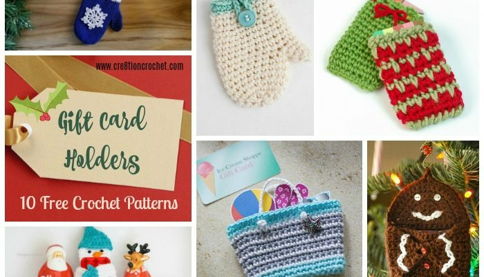 Gift Card Holders Pattern Collection