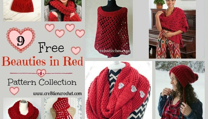 Beauties in Red Pattern Collection