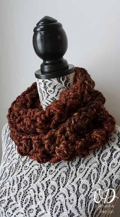 Warm And Chunky Scarves Amp Cowls Cre8tion Crochet