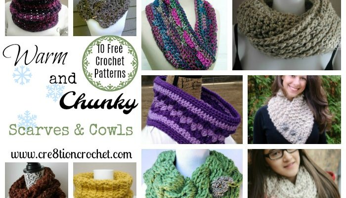 Warm and Chunky Scarves & Cowls
