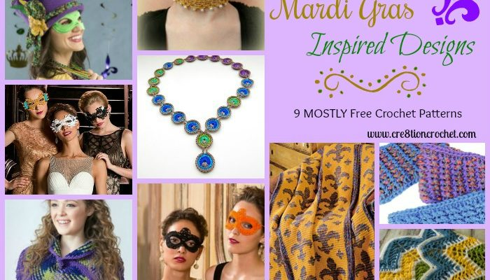 Mardi Gras Inspired Designs Pattern Collection