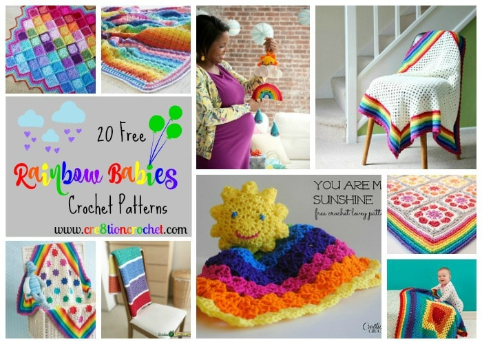 Pattern Collection For Rainbow Babies Cre8tion Crochet