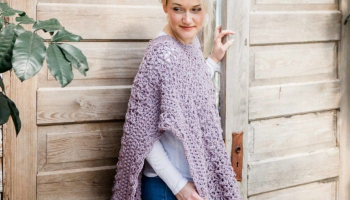 The Blooming Petals Poncho CAL with Furls Crochet