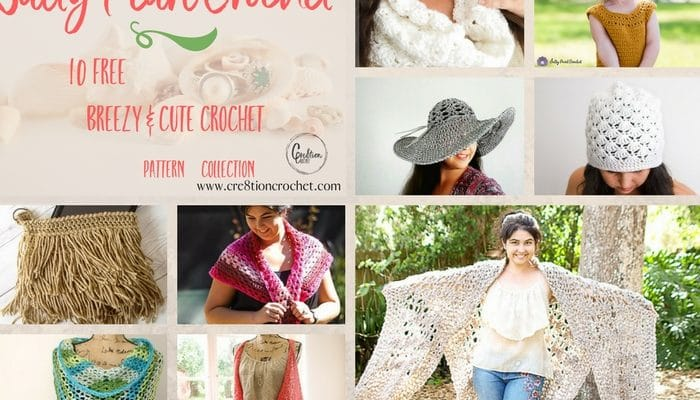 Salty Pearl Crochet Pattern Collection