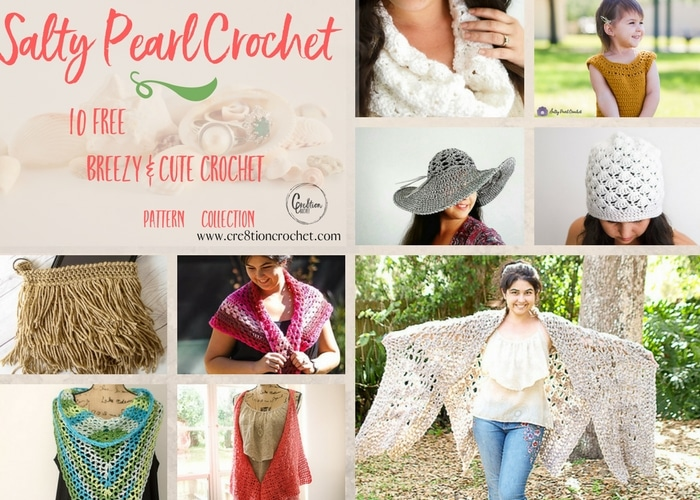 0dd0f28a320 Salty Pearl Crochet Pattern Collection - Cre8tion Crochet
