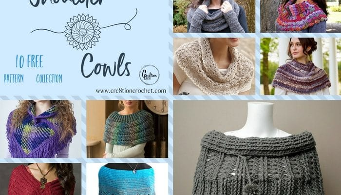 Shoulder Cowls Pattern Collection