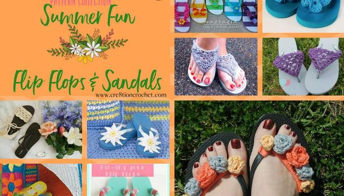 Summer Fun Flip Flops Pattern Collection