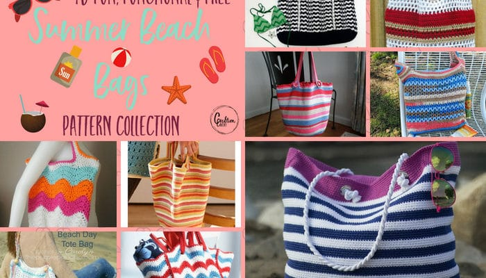 Summer Beach Bag Pattern Collection
