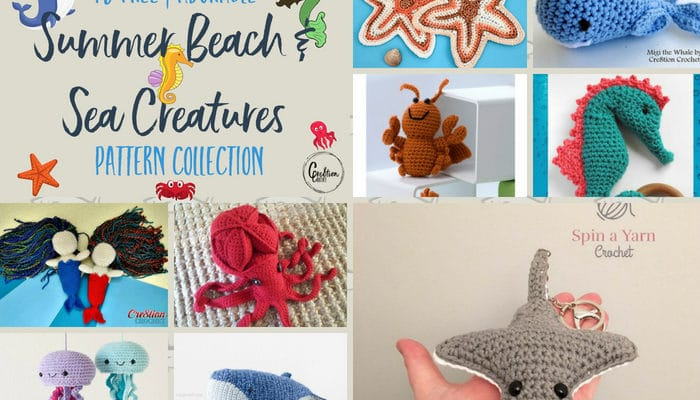 Summer Sea Creatures Pattern Collection