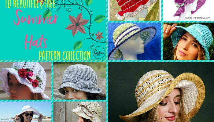 Summer Hats Pattern Collection
