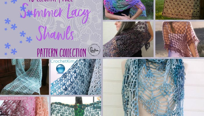 Summer Lacy Shawls Pattern Collection