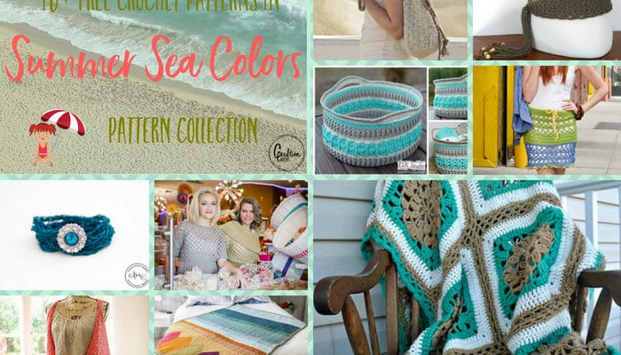 Summer Sea Colors Pattern Collection