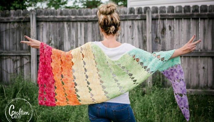 Pride Crochet Shawl