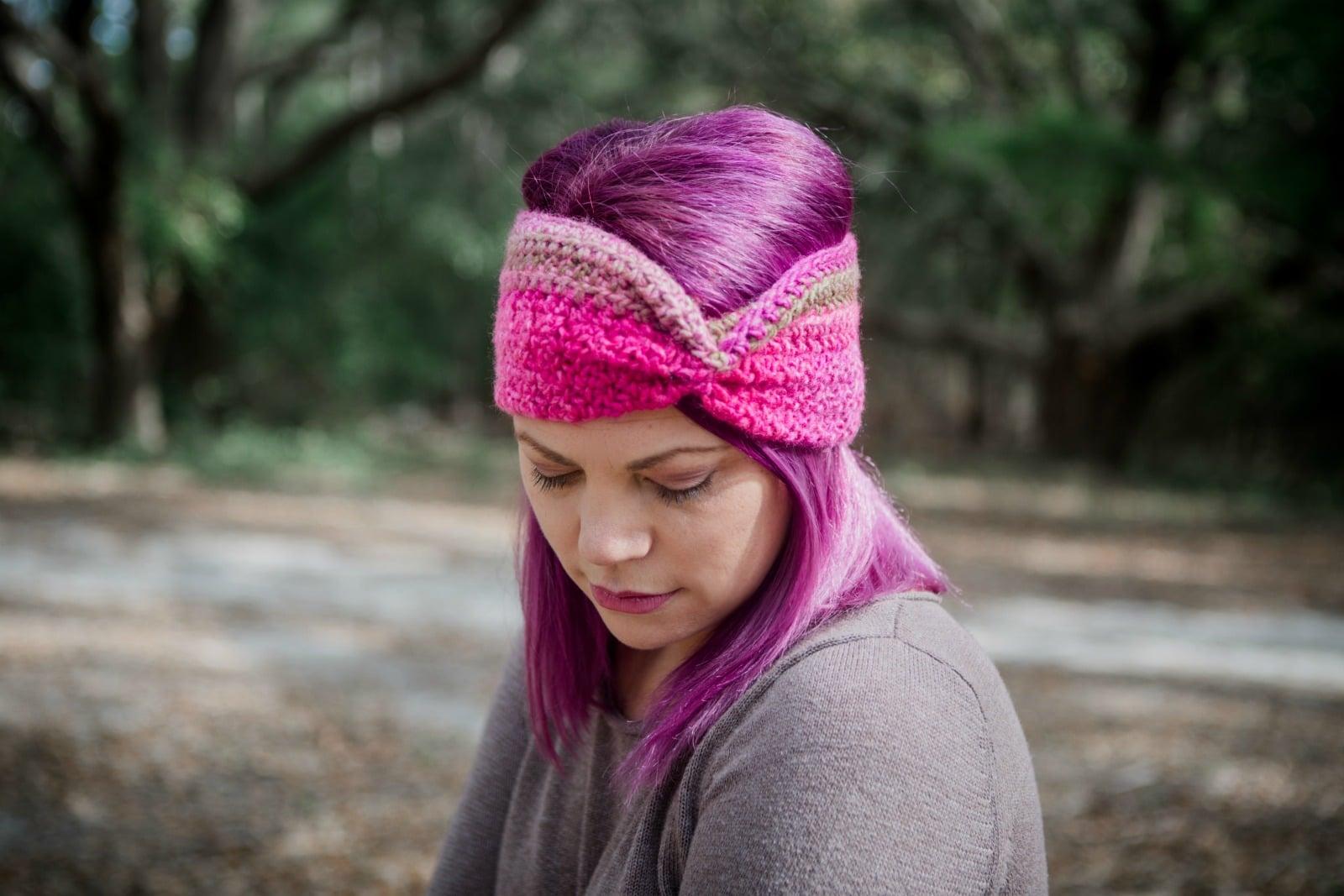 Quick Free Ear Warmer Crochet Pattern in Seattle