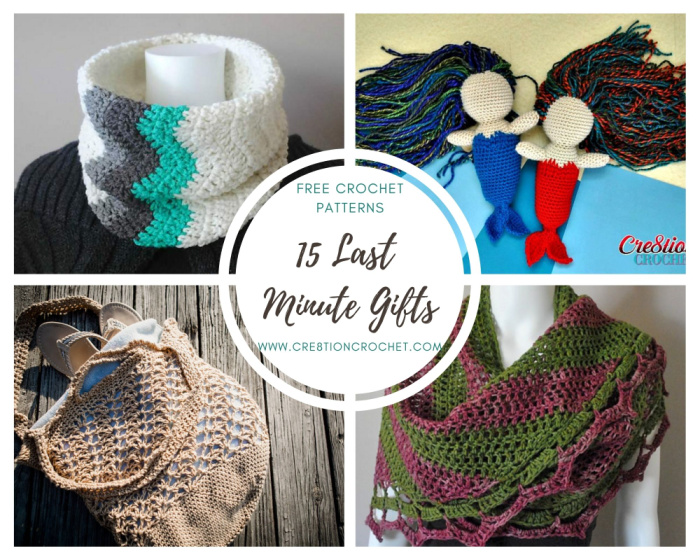 15 Last Minute Gifts - Free Crochet Patterns 2