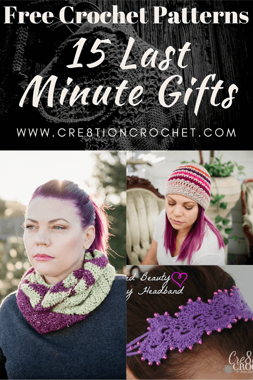 15 Last Minute Gifts - Free Crochet Patterns 4