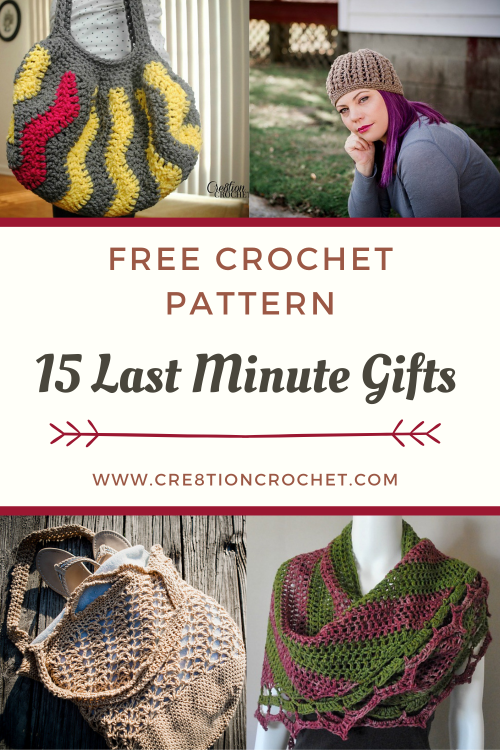 15 Last Minute Gifts - Free Crochet Patterns 6