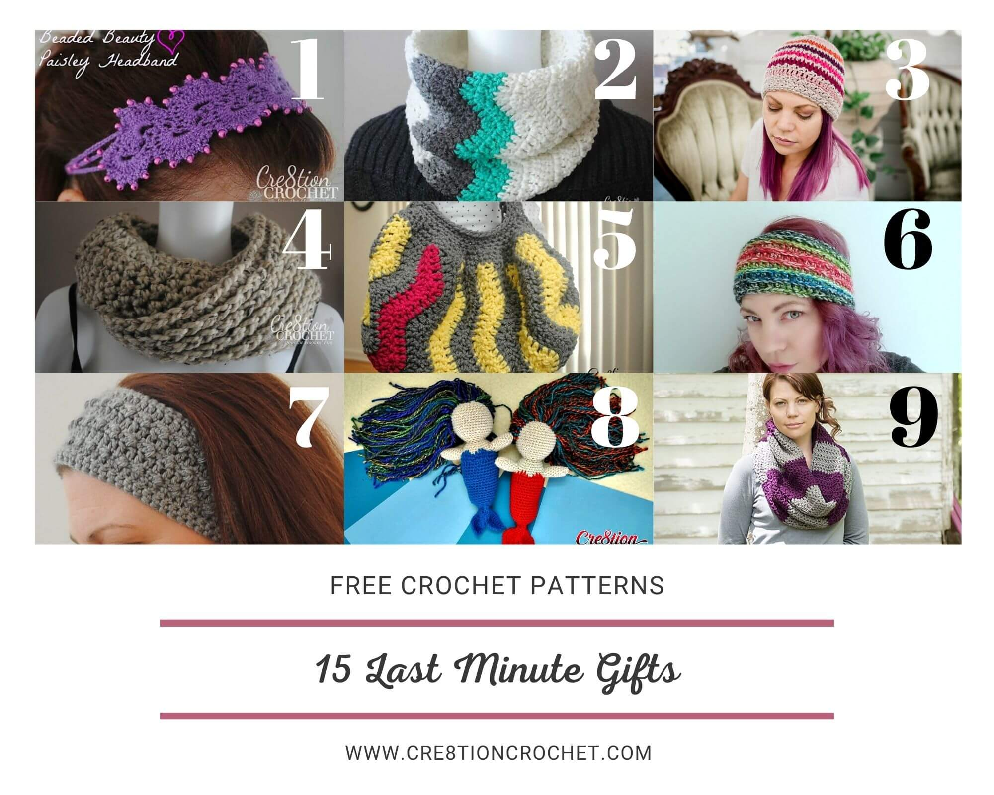 15 Last Minute Gifts - Free Crochet Patterns 3