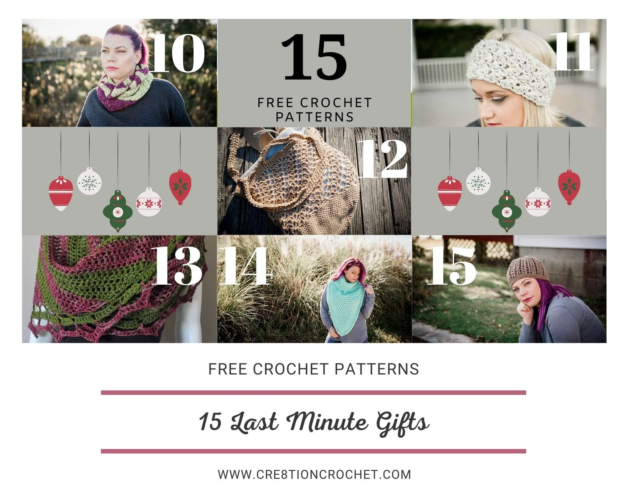15 Last Minute Gifts - Free Crochet Patterns 7